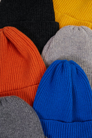 Royal Blue Knitted Beanie