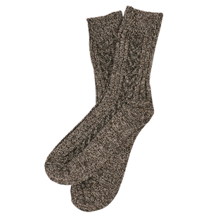 Thick luxury blended socks | Brown | Unisex