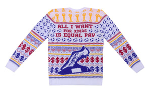 Rapi-noe Year: Equal Pay Knitted Christmas Jumper