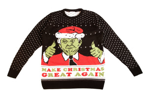 The Grinch: Donald Trump Christmas Jumper