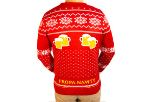 Christmas Geez: Danny Dyer Knitted Christmas Jumper