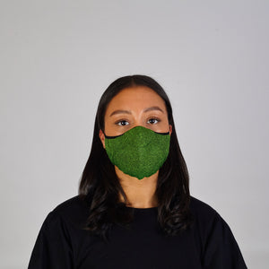 Face Mask: Green Marl