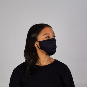 Face Cover: Black