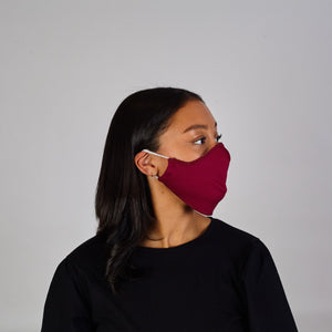 Face Cover: Maroon