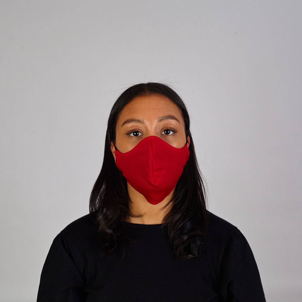 Face Cover: Red