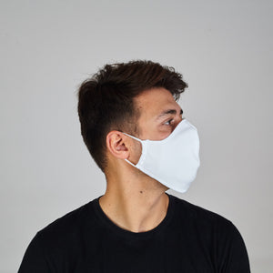 Face Cover: White