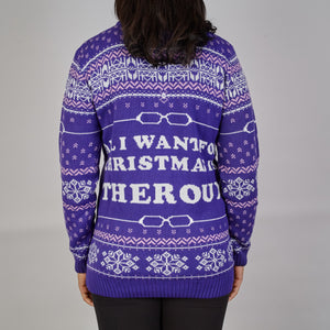 All I Want: Louis Theroux Knitted Christmas Jumper