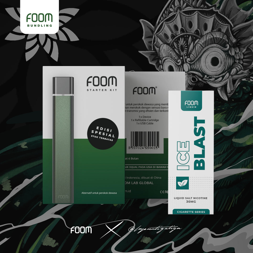 FOOM Special Edition: Midnight Green x @lapantigatiga