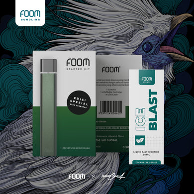 FOOM Special Edition: Midnight Green x @iannocent -  - FOOM