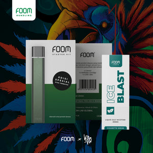 FOOM Special Edition: Midnight Green x @herzven -  - FOOM