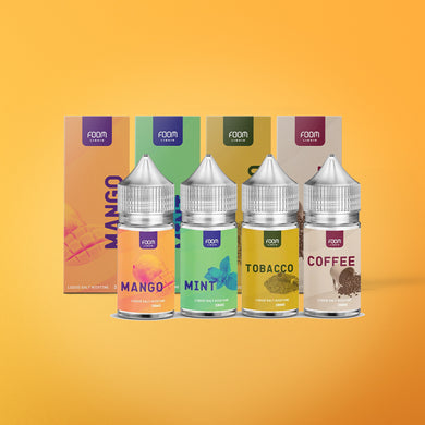 [FLASH SALE] FOOM E-Liquid Flavor Vape E-Cigarette 30ml -  - FOOM