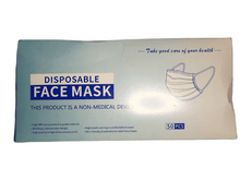 Load image into Gallery viewer, Box of 50 Disposable Face Masks