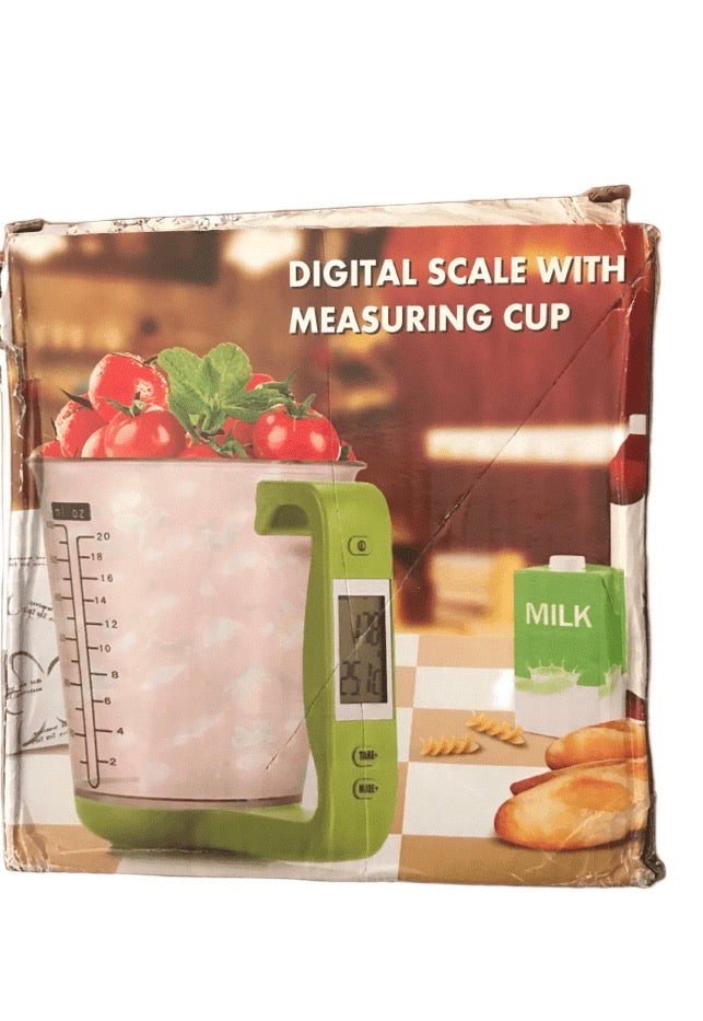 Digital Scale With Measuring Cup (011)