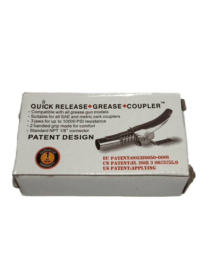 Quick Release Grease Coupler (022)