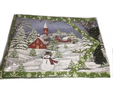 Placemats Set of 4 & Runner (005)
