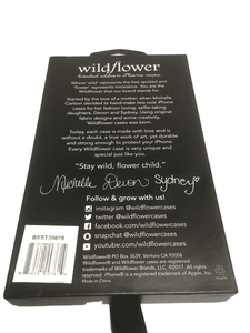 Wildflower Case for iPhone 6,7,8 (003)
