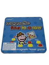 Load image into Gallery viewer, Four in a Row Magnetic Travel Game (015)
