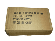 Load image into Gallery viewer, Set of 5 Dough Presses (022)