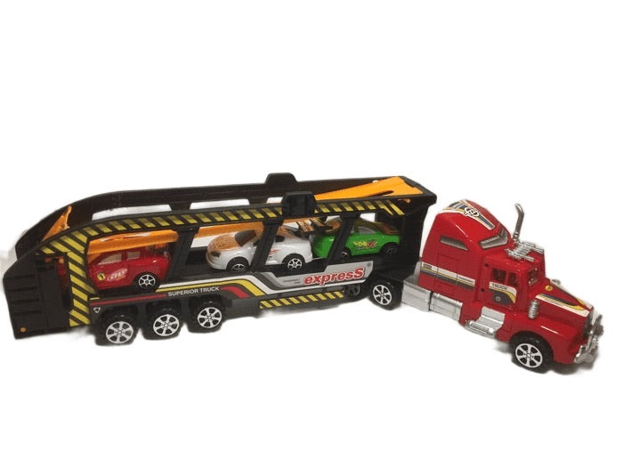Superior Truck Friction Car Carrier Set (003)