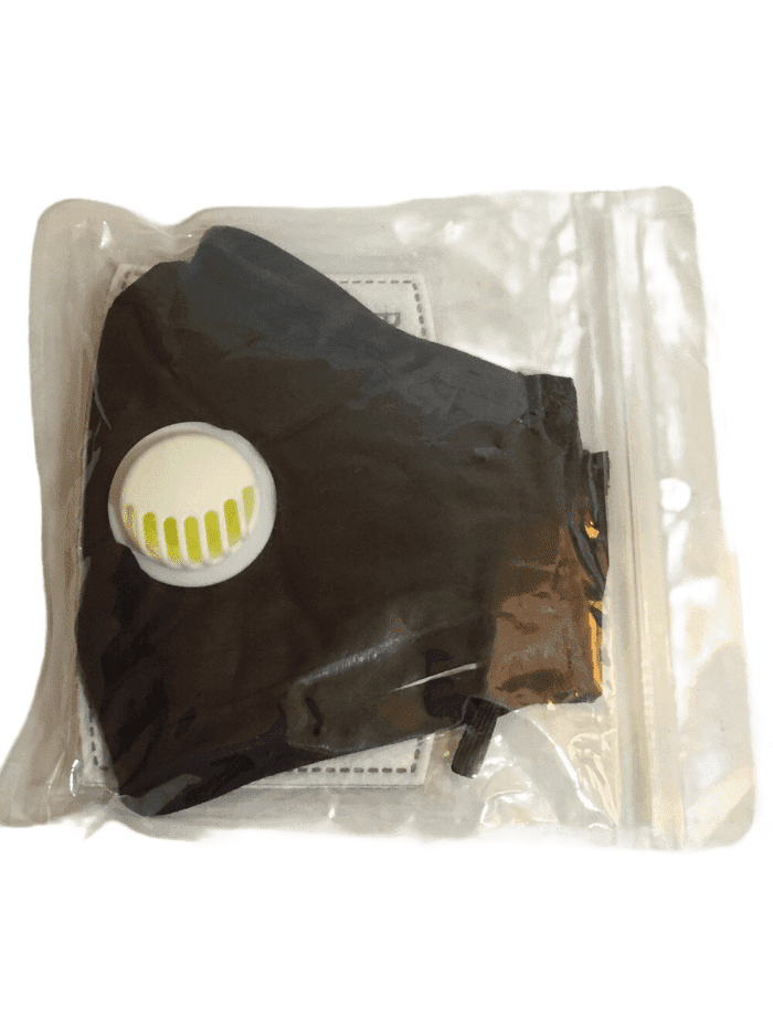 PM2.5 Reusable Cloth Face Mask w/2 Filters (008)