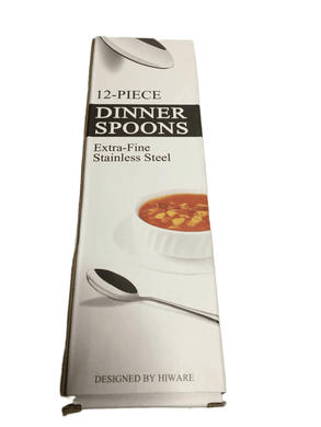 12 PC Dinner Spoon Set (006)