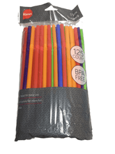 "Load image into Gallery viewer, 125PK 9"" Flex Straws (024)"