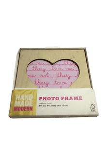 Hand Made Modern Photo Frame (011)