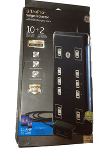 Surge Protector with USB Charging Dock (011)