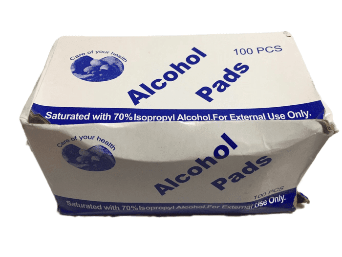 Alcohol Pads 100PCS (019)