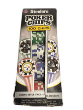 Load image into Gallery viewer, 100 Poker Chips (011)