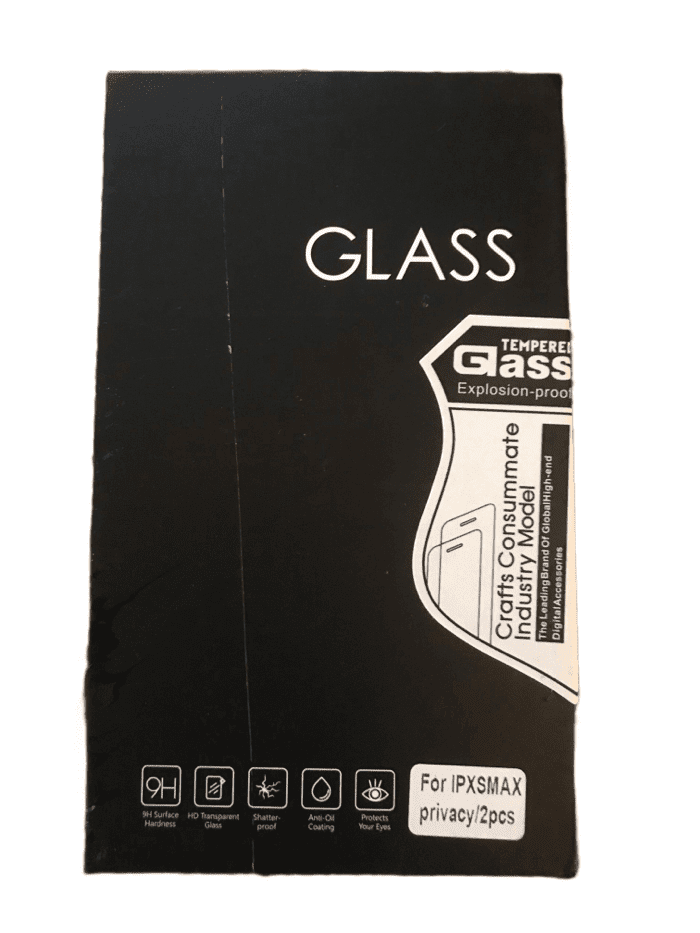 Tempered Glass For iPhone XS Max (029)