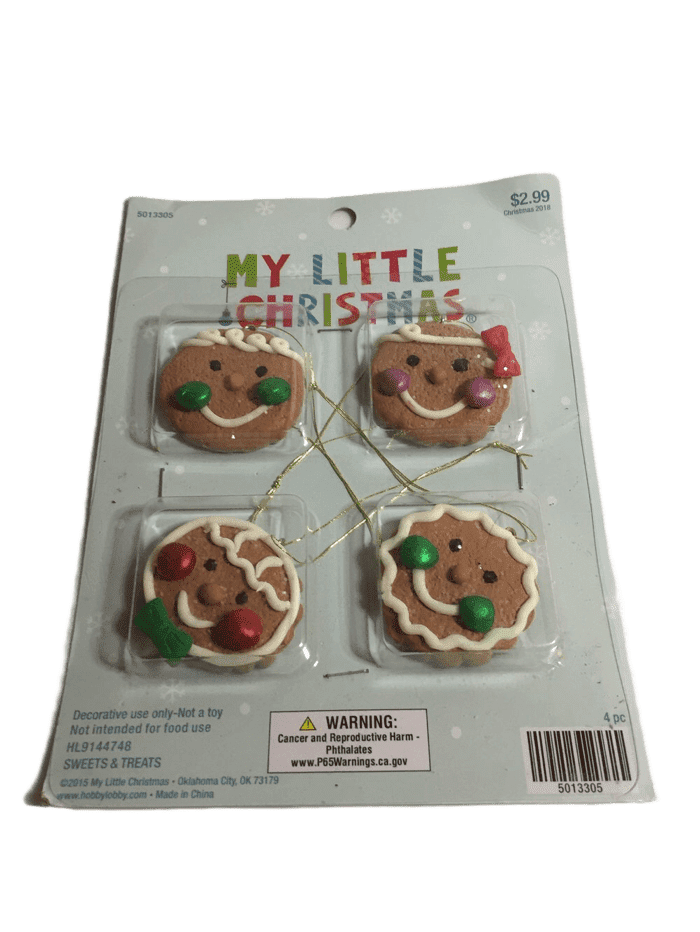 Gingerbread Hanging Christmas Ornaments (023)