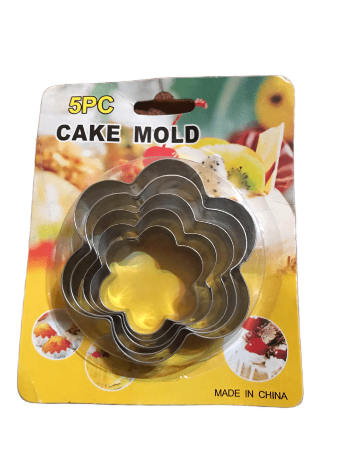 5PC Cake Mold Set (023)