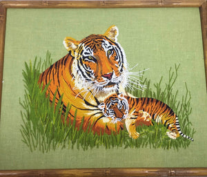 Wall Hanging Tiger Picture