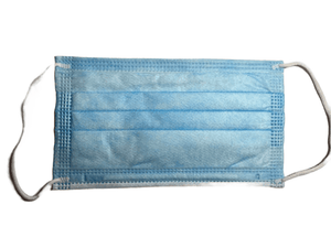 50PK Disposable 3 Ply Blue Face Mask
