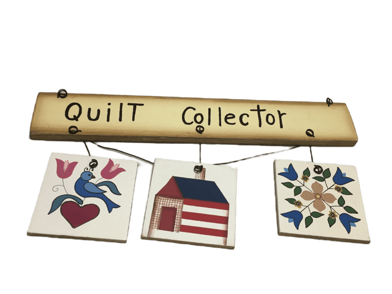 """Quilt Collector"" Hanging Decoration"
