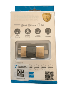 Flash Drive Dual Storage For iOS & PC (029)