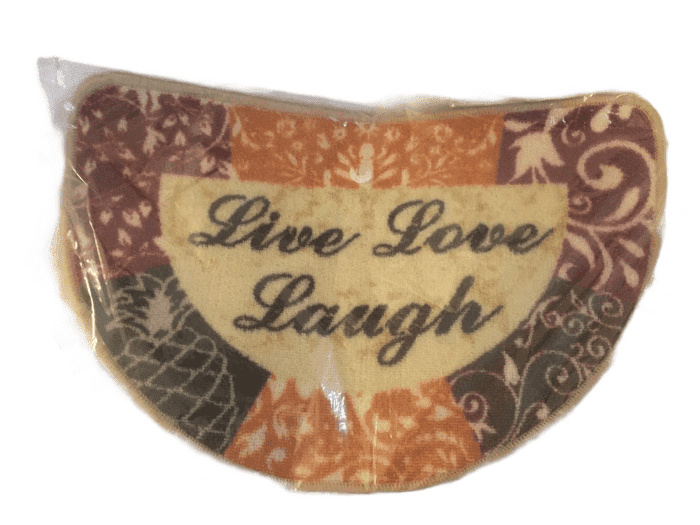 Live Love Laugh Door Mat Set of 2 (002)