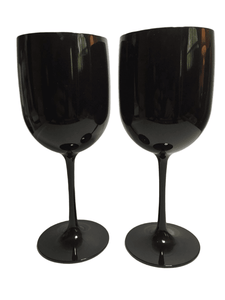 "Pair of 9"" Goblets (025)"