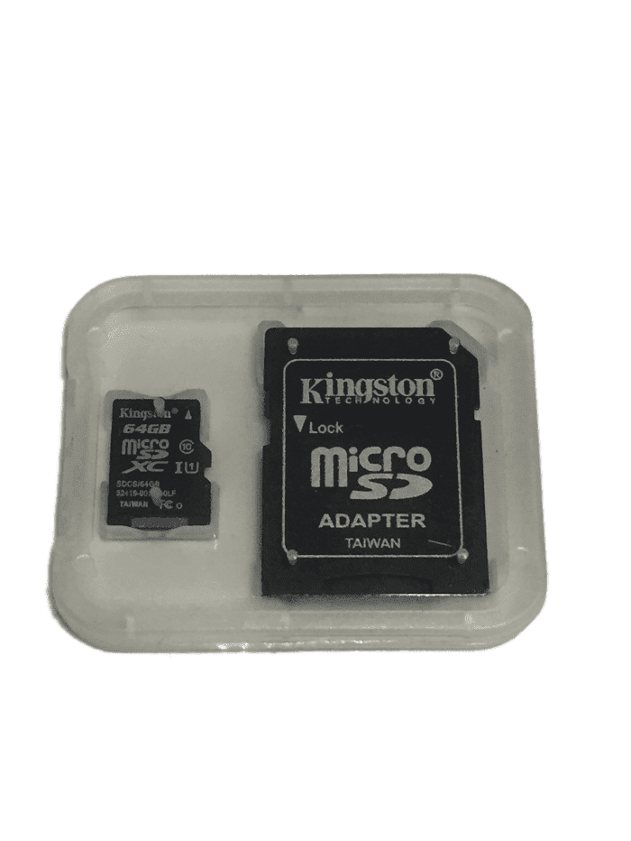 Kingston 64GB Micro SD Card w/Converter (021)