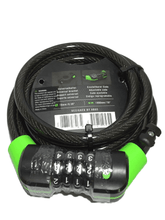 Load image into Gallery viewer, 4 Digit Combination Cable Lock (011)