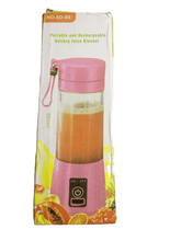 Load image into Gallery viewer, Portable & Rechargeable Battery Juice Blender (026)