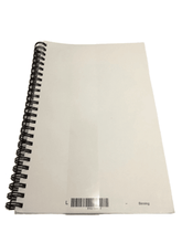 Load image into Gallery viewer, 8.5X5.5 Inch Spiral Notebook (011)