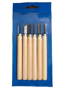 6PC Wood Carving Set (001)