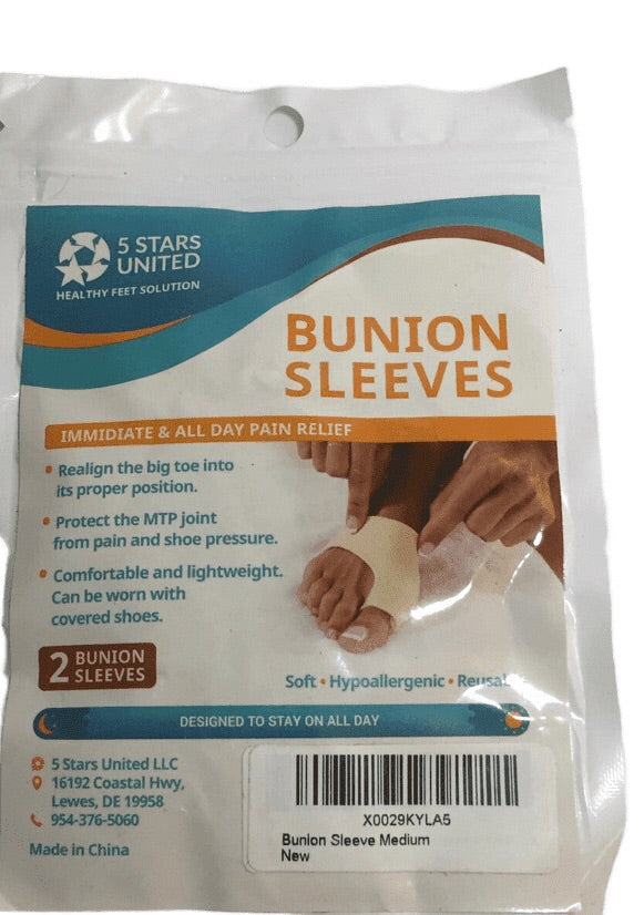 5 Stars United Bunion Sleeves (009)