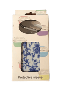 Blue Floral Sleeve For AirPods Pro (027)