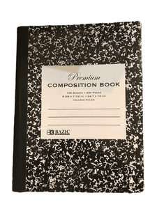Bazic Premium Composition Book (001)