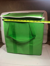 Load image into Gallery viewer, Reusable Insulated Grocery Bags - Green - x 2