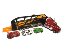 Load image into Gallery viewer, Superior Truck Friction Car Carrier Set (003)