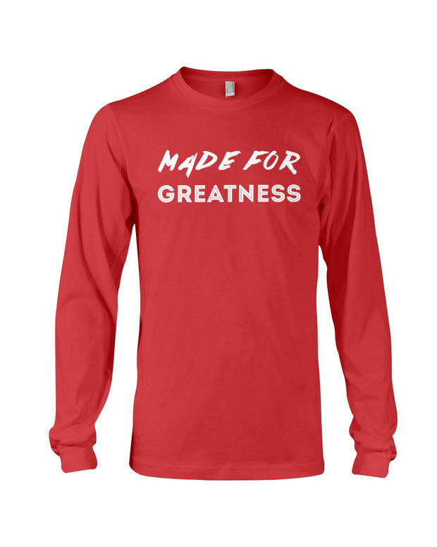 Kingdom Inheritance Made for Greatness Long Sleeve T | Unisex Wear